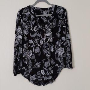 Lucky Shirt flower print